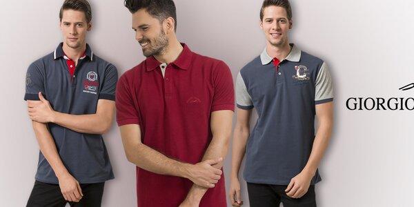 Giorgio Valenti - polo tričká pre pohodových mužov