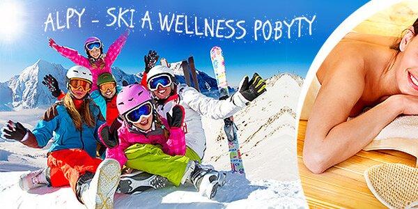 Alpy - ski a wellness pobyty