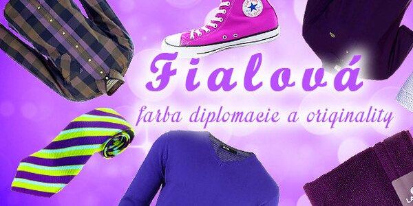 Fialová - farba diplomacie a originality
