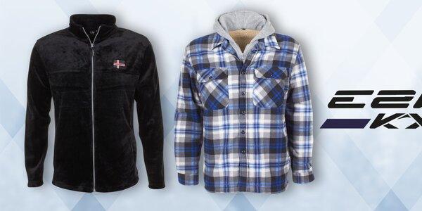 Štýlové zimné oblečenie pre mužov E2ko