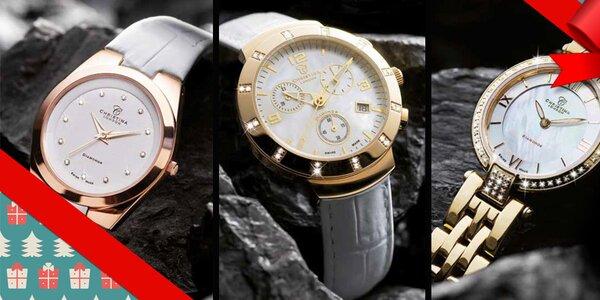 S diamantmi i bez - dámske hodinky Christina London, Obaku, Just Cavalli a iné