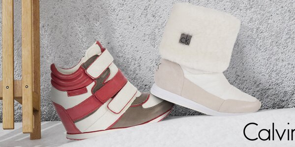 Mix štýlových dámskych topánok Calvin Klein
