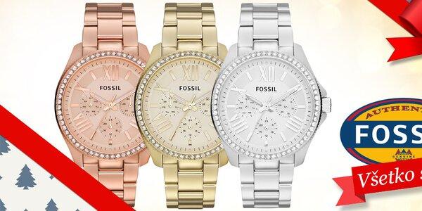 Darujte k Vianociam očarujúce dámske hodinky Fossil
