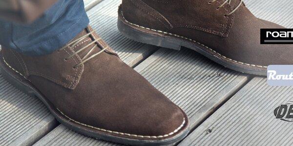 Kožené topánky pre štýlových mužov Roamers, Route 21, Grafters a iné