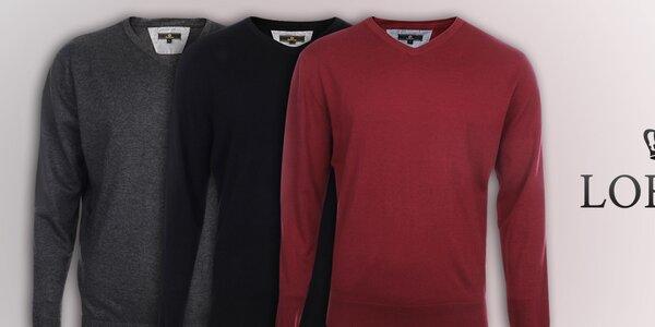 Pánske svetre v obľúbených farbách Loram