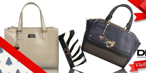 Vianočný tip - Luxusné dámske kabelky a peňaženky DKNY