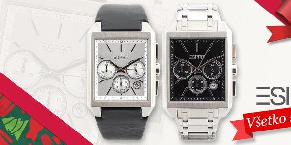 Tip na skvelý darček - štýlové pánske hodinky Esprit
