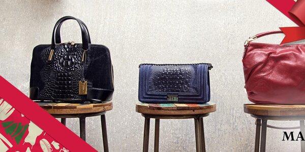 Neodolateľné dámske kožené kabelky Mangotti