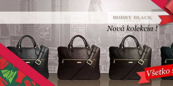 Nová kolekcia štýlových tašiek Bobby Black