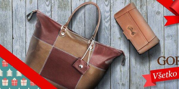 Tip na Vianoce - dámske kabelky a peňaženky Gorétt