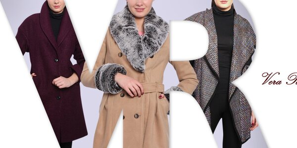 Vera Ravenna - kabáty pre sebavedomé ženy