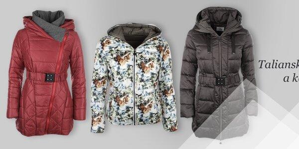 Dámske bundy a kabátiky Fly moda, DJ85 °C a LWJ Collection