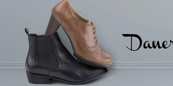 Štýlové dámske topánky Daneris