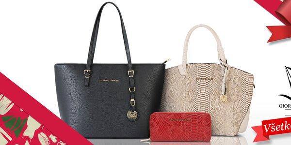 Parádne dámske kabelky a peňaženky Giorgio di Mare