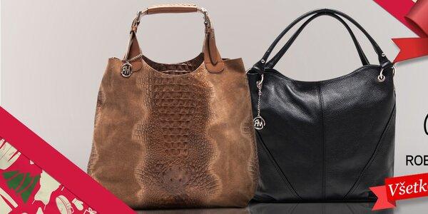 Tip na vianočný darček - kožené kabelky Roberta Minelli