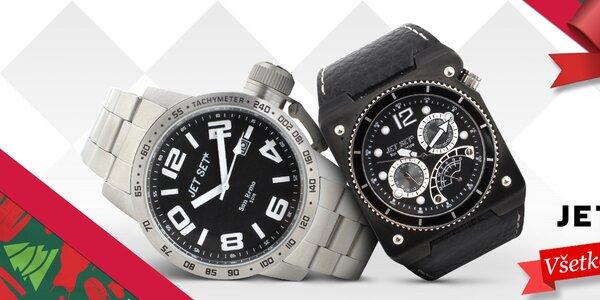 Trafte sa darčekom do čierneho - pánske hodinky Jet Set