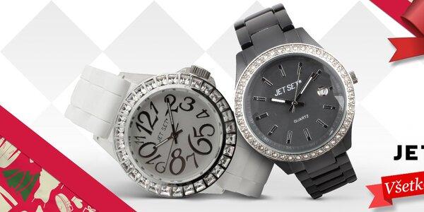 Trafte sa darčekom do čierneho - dámske hodinky Jet Set