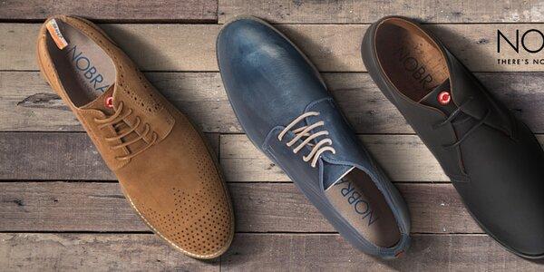 Nobrand - štýlové pánske topánky ručnej výroby