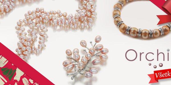 Darujte radosť - dámske perlové šperky Orchira