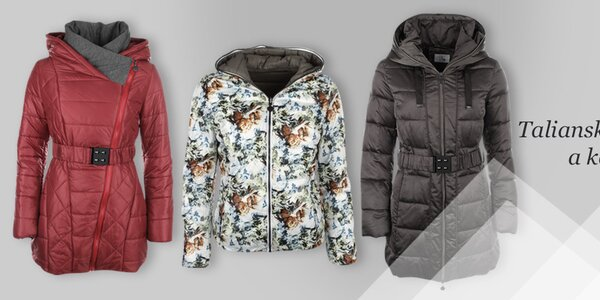 Dámske bundy a kabátiky Fly moda, DJ85 ° C a LWJ Collection