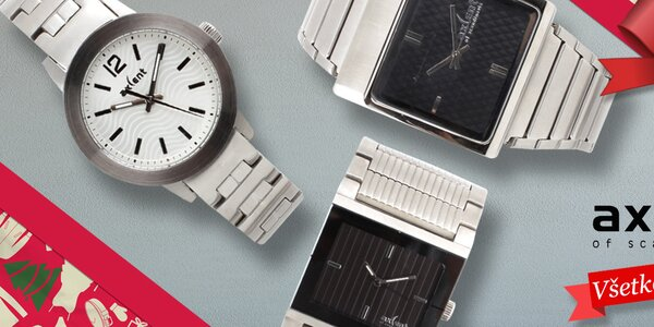 Je čas na darček - dámske hodinky Axcent