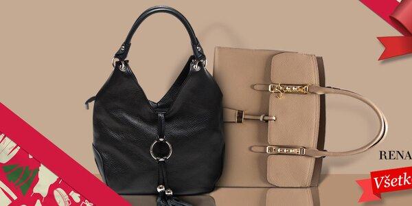 Očarujúce kabelky z kože Renata Corsi
