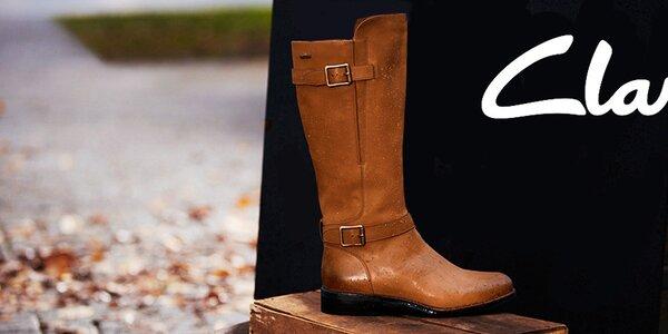 Clarks - dámske kožené topánky, ktoré majú šmrnc