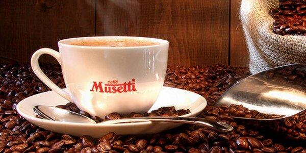 2 kávy talianskej značky Musetti