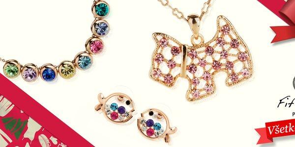 Dámske šperky s kryštálikmi Fifi Ange