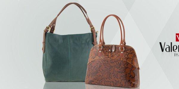 Pôvabné kožené kabelky Valentina Italy