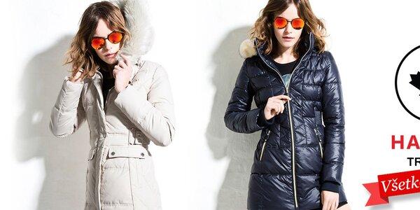 Štýlové dámske bundy a kabáty Halifax