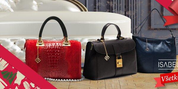 Neodolateľné kožené kabelky Isabella Rhea