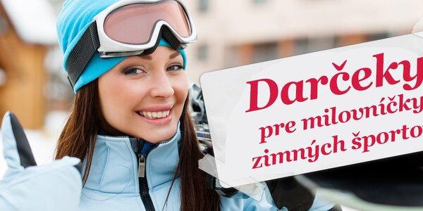 Zdolajte horské svahy - dámske zimné oblečenie