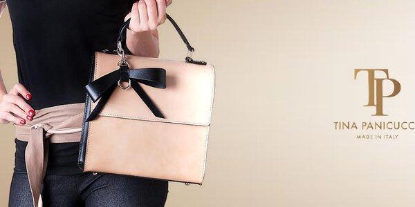 Tina Panicucci - kožené kabelky pre náročné