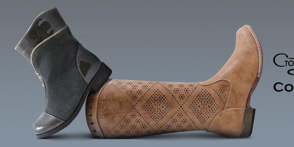 Topánky, ktoré nebudete chcieť vyzuť Ctogo Gogo, Colorful