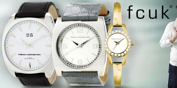French Connection módne britské hodinky pre mužov aj ženy