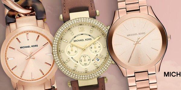 Pripnite si na zápästie štýlové hodinky Michael Kors