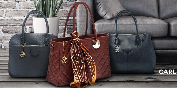 Kožené kabelky a listové kabelky Carla Ferreri