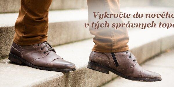 Páni, vykročte do nového roka v správnych topánkach