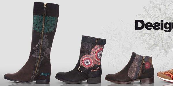 Desigual - hravé dámske topánočky a tenisky