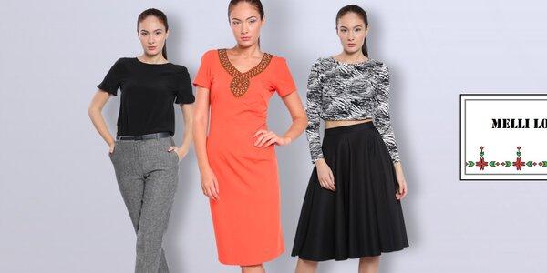 Očarujúca dámska móda Melli London