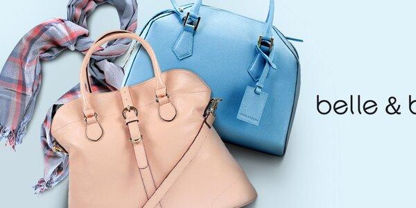 Kožené kabelky a pekné šatky Belle & Bloom