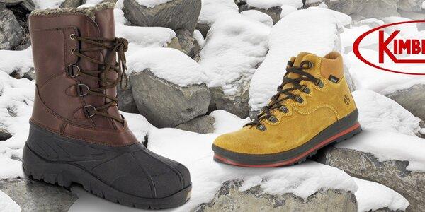 Pánske topánky a ruksaky Kimberfeel