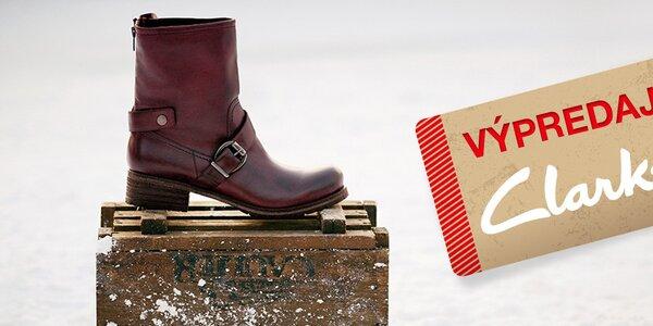 Clarks - štýlové dámske topánky do mesta
