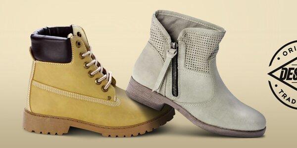 Módne dámske topánky Destroy