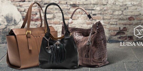Luxusné kožené tašky Luisa Vannini