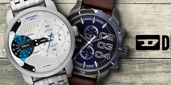 Diesel - pánske hodinky, bez ktorých sa nezaobídete