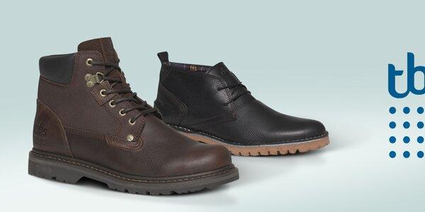 TBS - moderné pánske topánky, ktoré vás dostanú