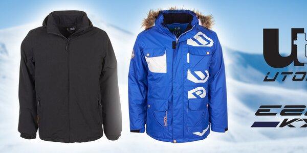 E2KO a Utopik - pánske oblečenie do snehovej nádielky