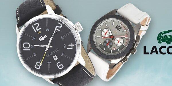 Lacoste - pánske hodinky, ktorým nemožno odolať